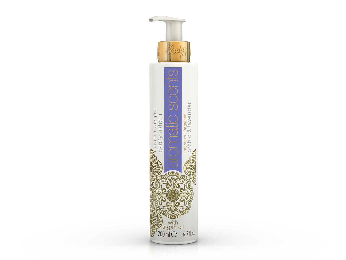 2781 RUDY AROMATIC FLORAL- Mléko na ruce a tělo 200ml- LEVANDULE A ORCHID