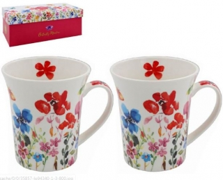 LP94340 Hrnky 2 kusy set Butterfly Meadow