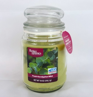 Candle lite- Fresh Eucalyptus Mint 510g